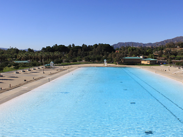 Best public pools in los angeles for a summer swim for Hansen dam fishing