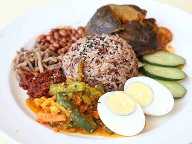 Multigrain nasi lemak by simple life