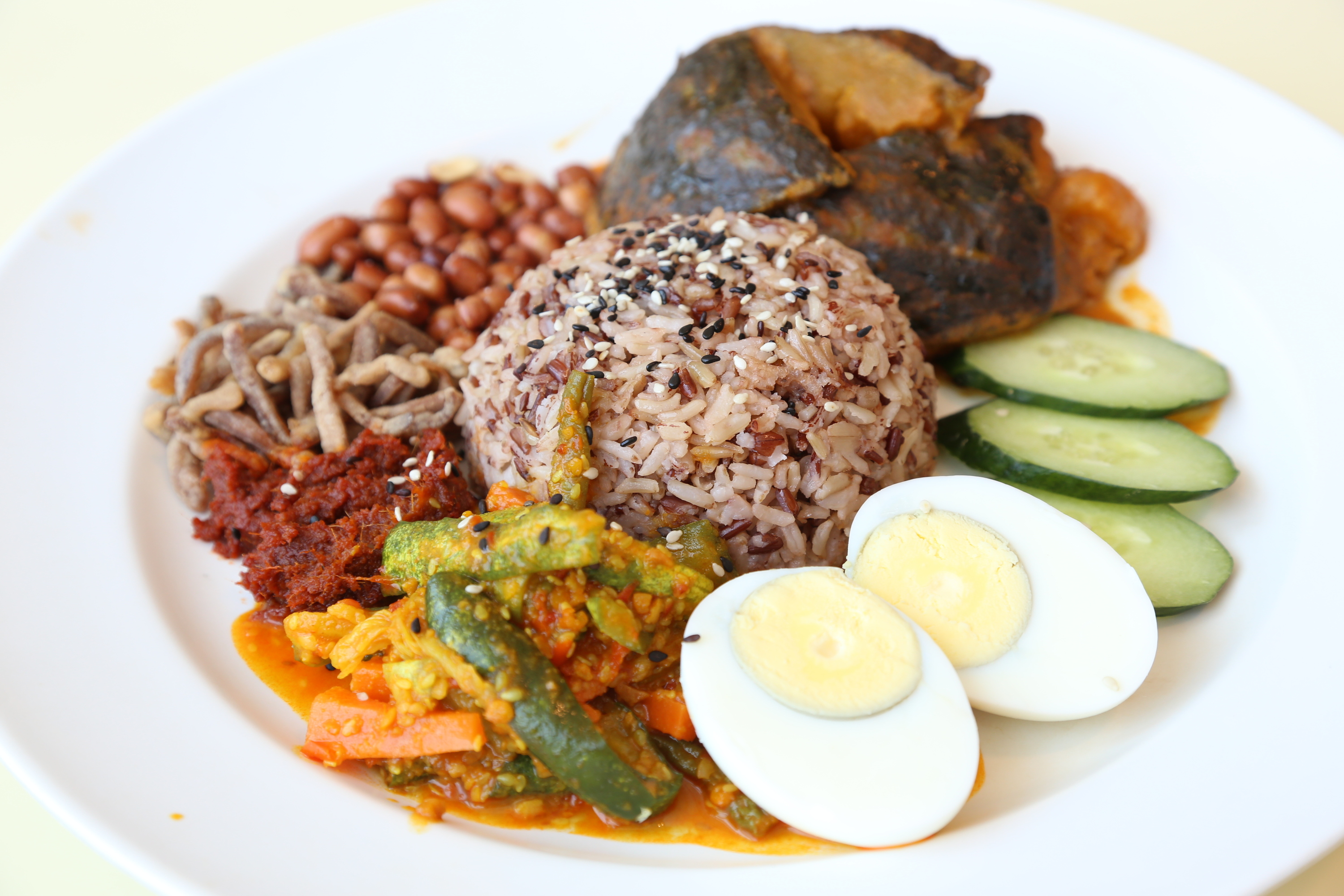 Multigrain nasi lemak by simple life