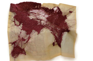 (Cathryn Boch, 'Continent Rouge', 2011 / Courtesy galerie Claudine Papillon)