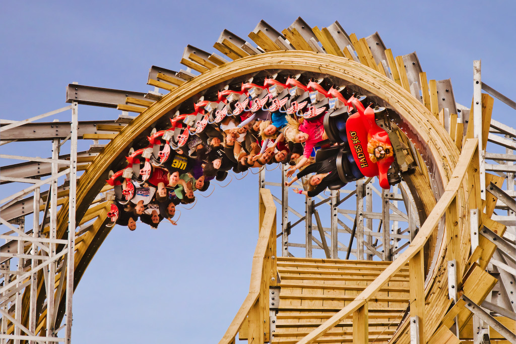 10 best Midwest roller coasters