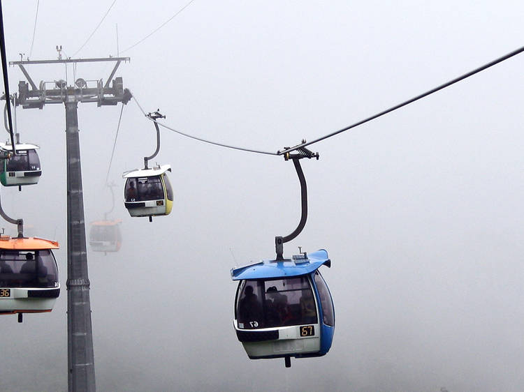 Hang, literally, with Genting Skyway