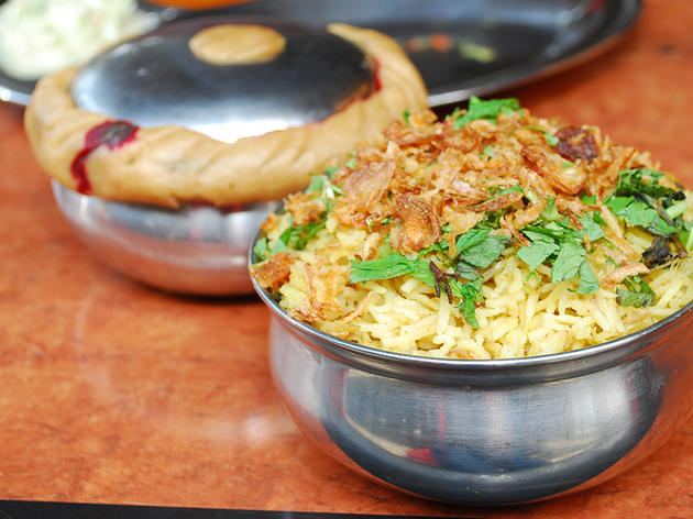Sit down to a piping hot biryani