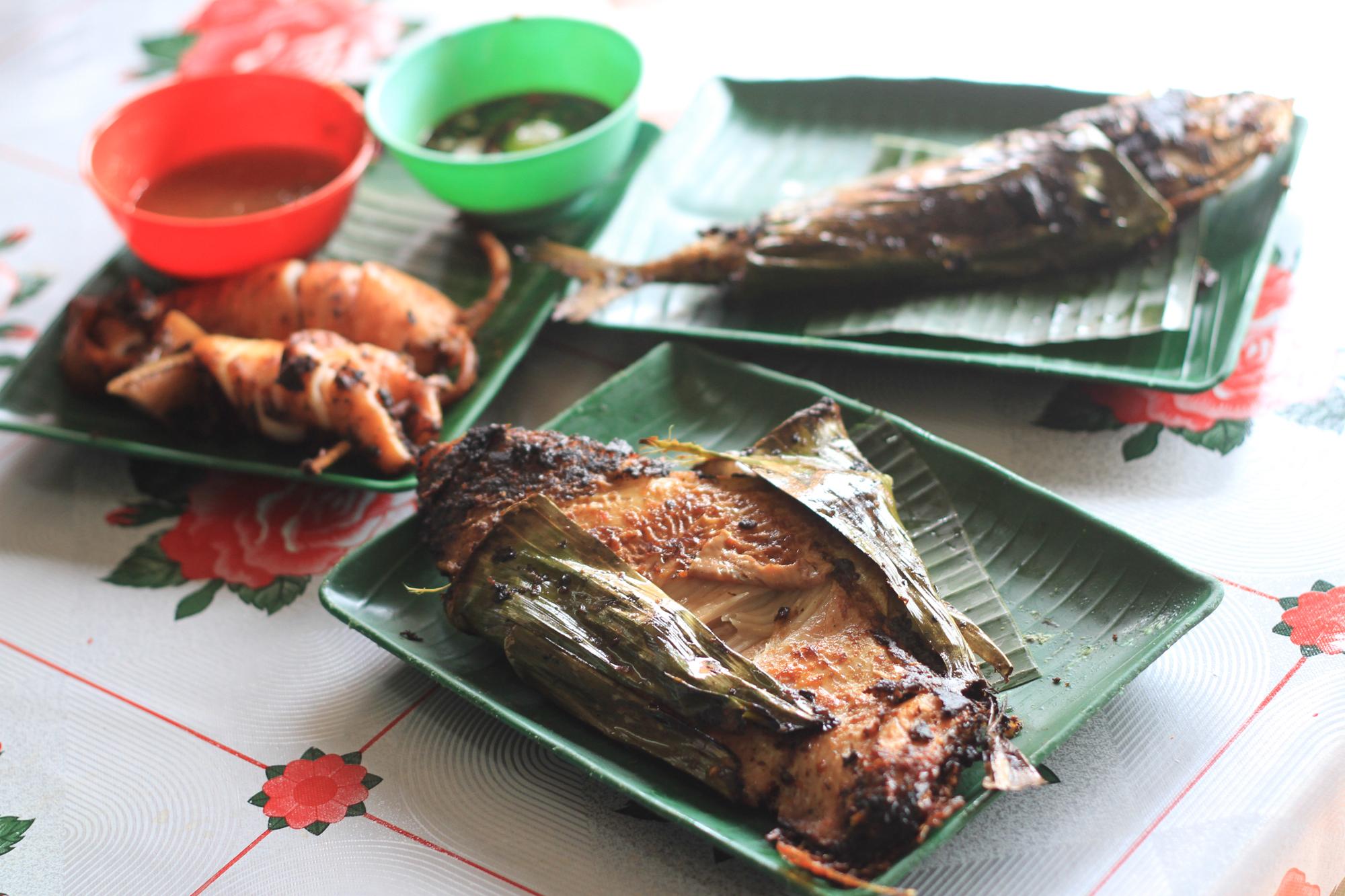 Ikan bakar Kedai Kat Jat