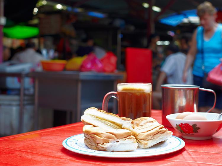 Breakfast in Imbi Market