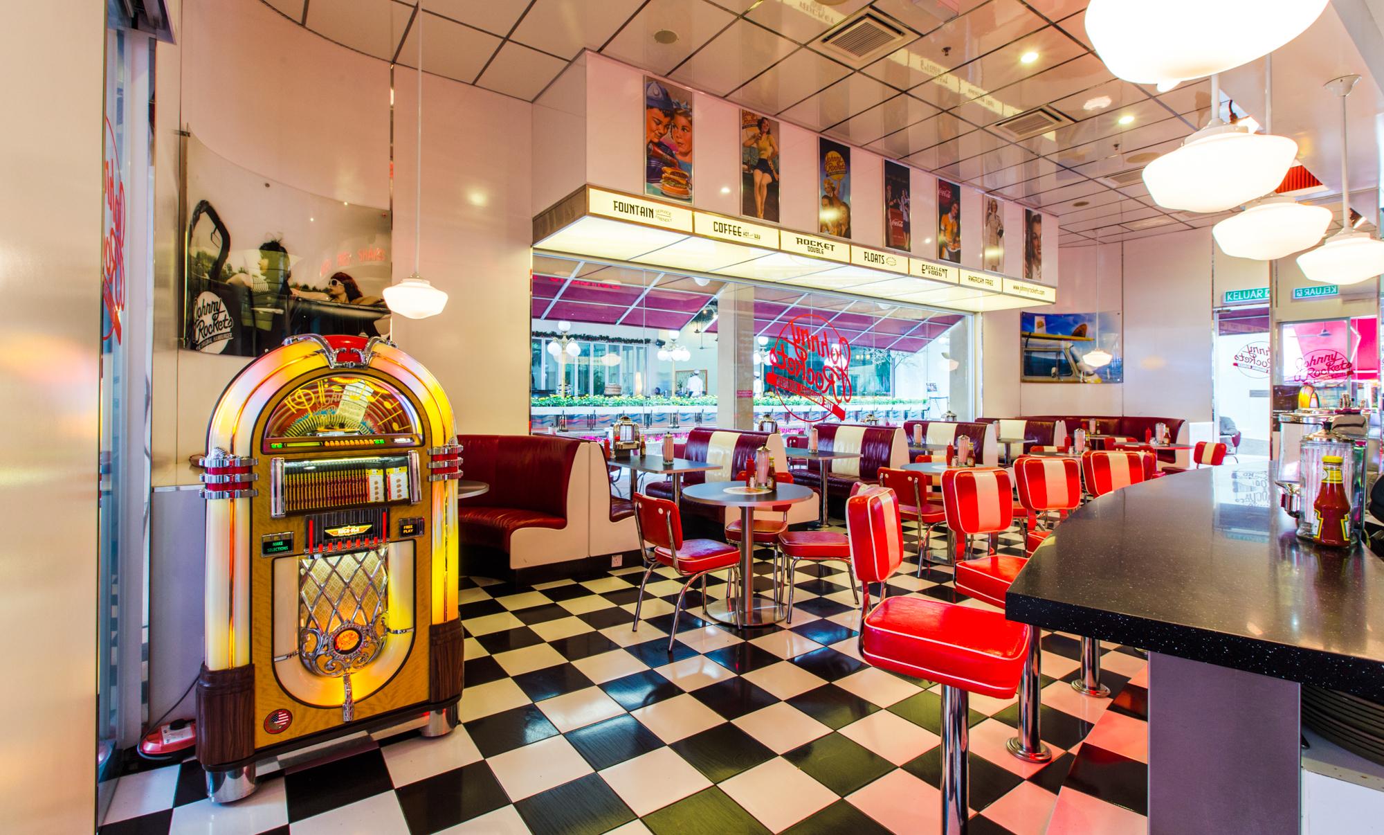 Johnny Rockets The Curve Restaurants In Mutiara Damansara Petaling Jaya