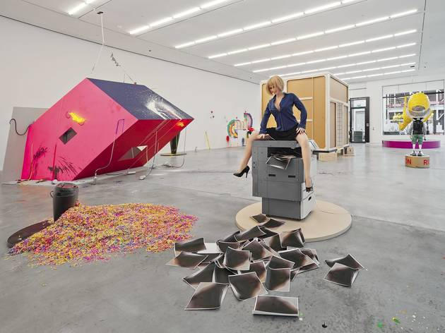 Richard Jackson (Installation view, 'Richard Jackson. New Paintings', Hauser & Wirth, London, England, 2014)