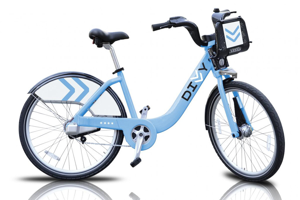 DIVVY bike naming and graphic identity program, by IDEO and Firebelly