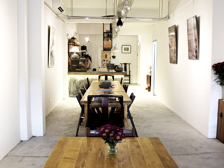 Venture into the wilds of Old KL for a coffee-art blend at Aku