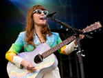 Jenny Lewis performs at the Boston Calling Music Festival on May 24, 2014.