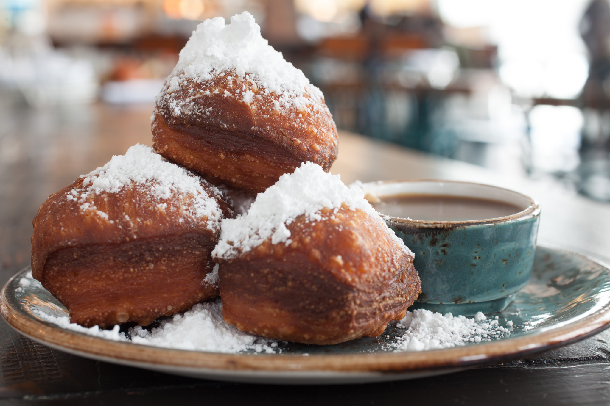 Beignets at Carriage House
