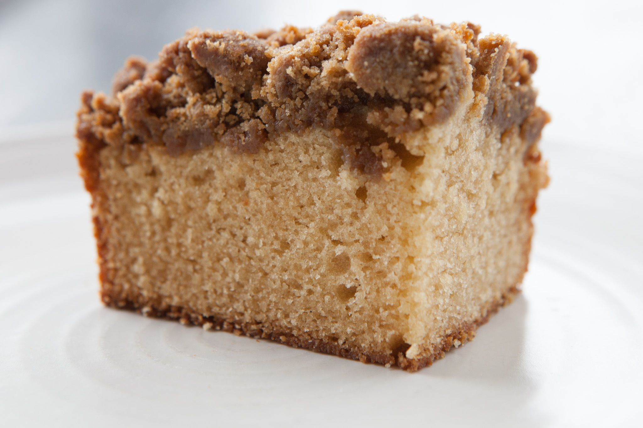 Vanilla malt coffee cake at Lula Cafe