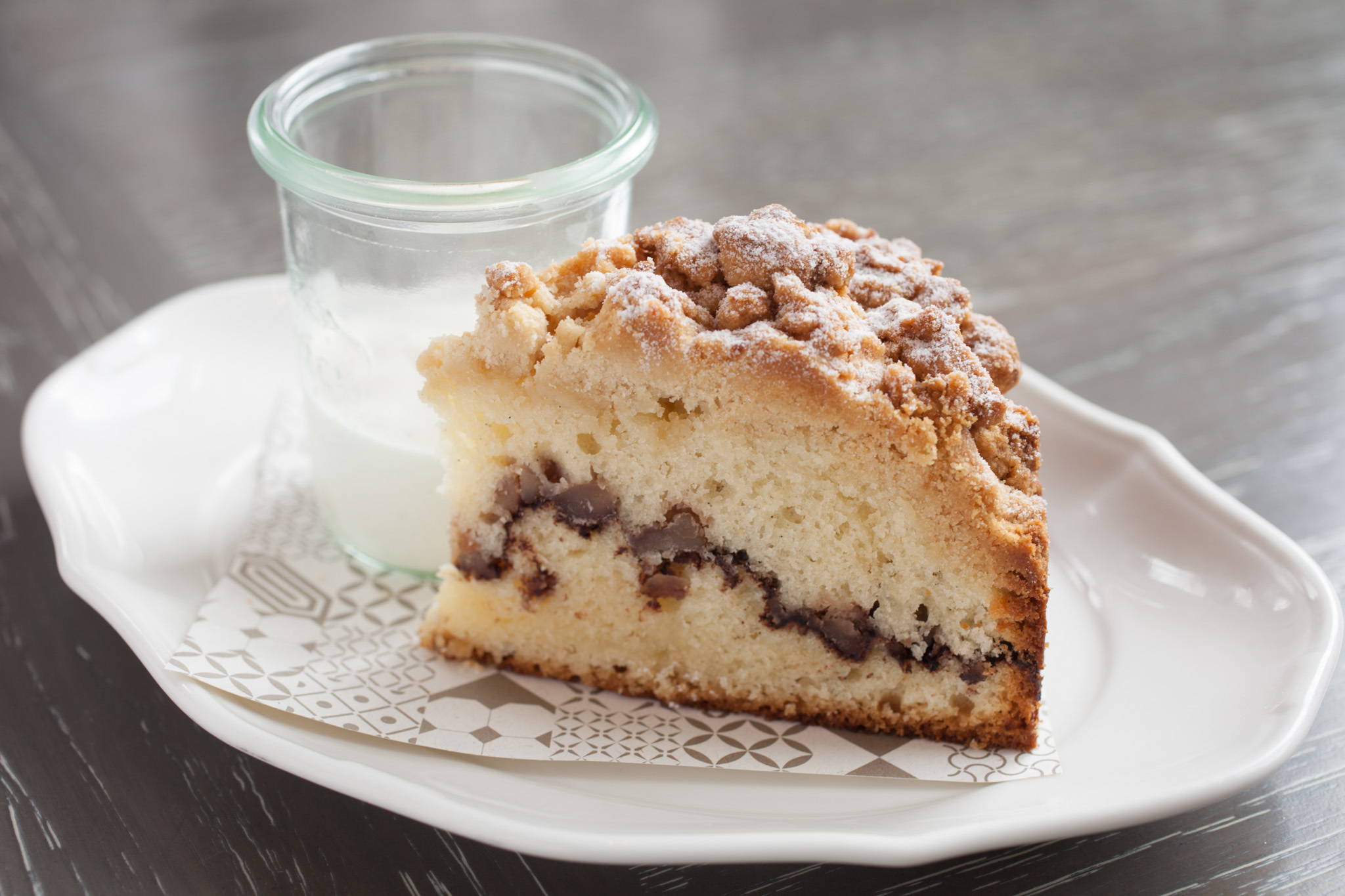 Coffee cake at Nico Osteria