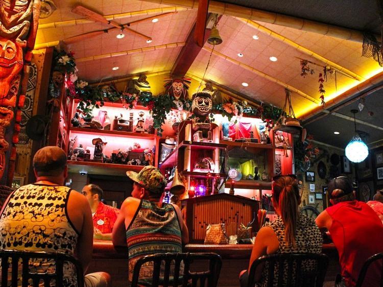Disneyland's Enchanted Tiki Bar