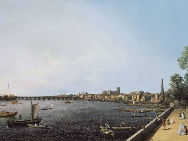 Canaletto ('The Thames from Somerset House Terrace towards Westminster', c1750)