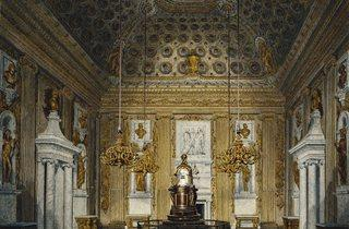 R Cattermole ('The Cupola Room, Kensington Palace', c1817 )