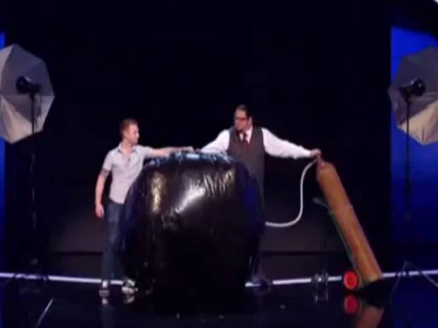 Penn and teller water tank trick snl celebrity