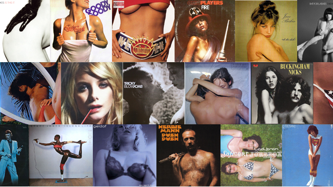 Beyoncé, Prince and, yes, Barbra Streisand make the list of the sexiest album covers ever.