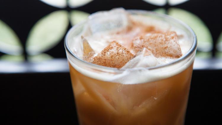 Coffee cocktail at Stella Barra.