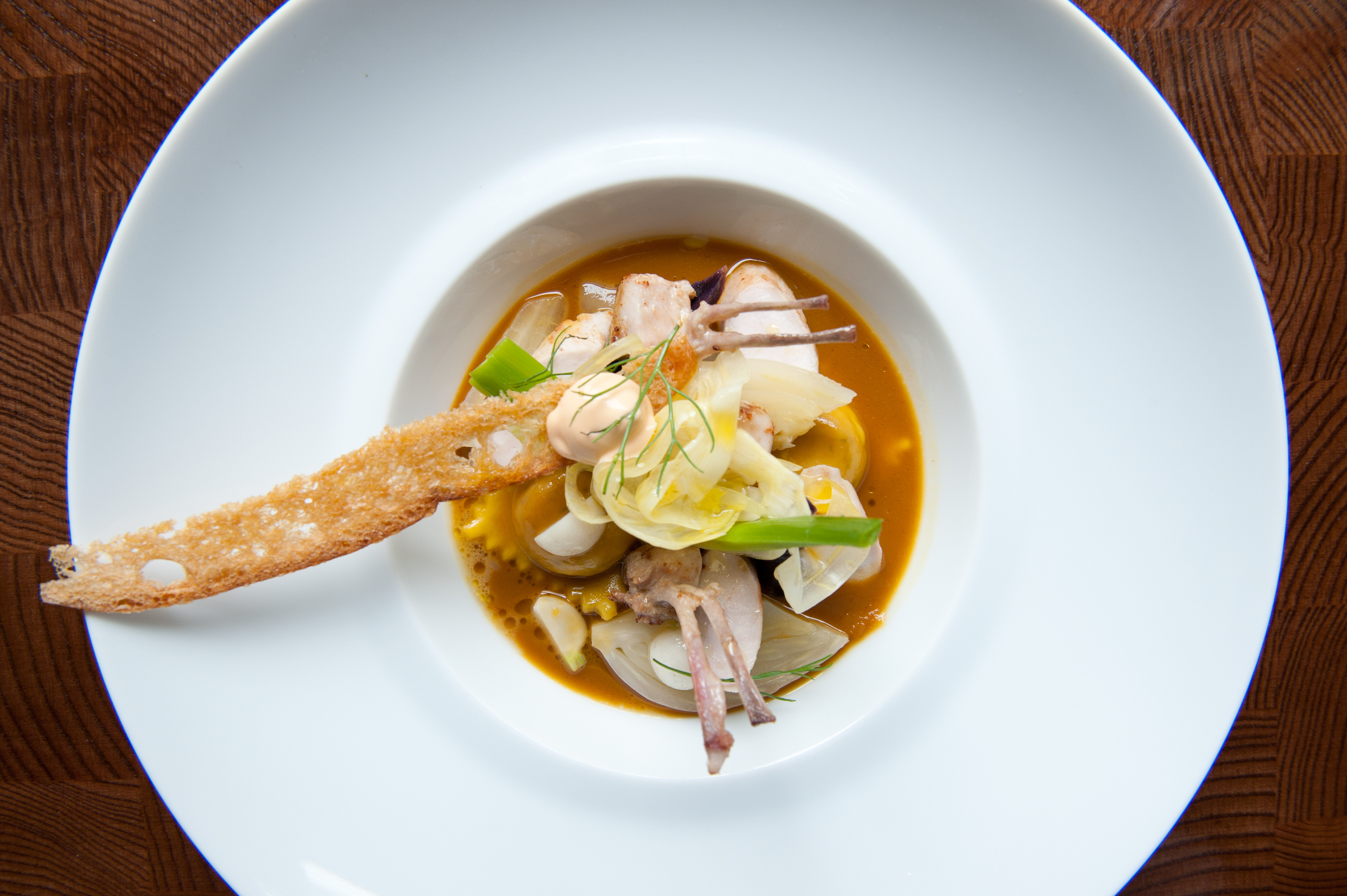 "Rabbit ""Flavors of Bouillabaisse"""