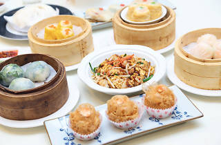 The Ming Room dim sum