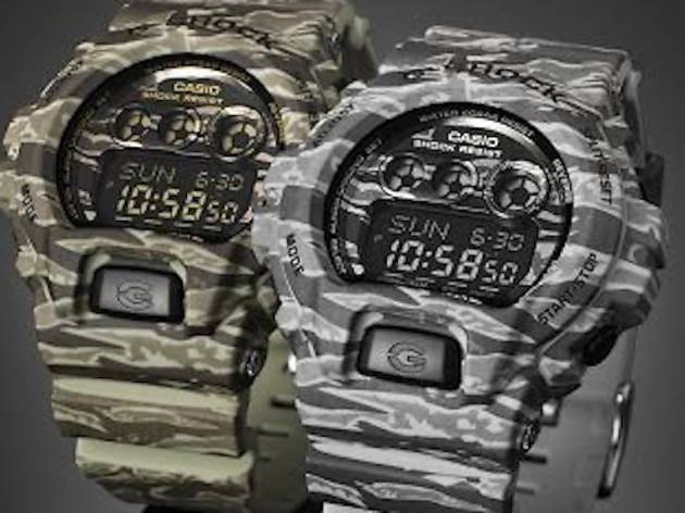 G-Shock Camo Launch