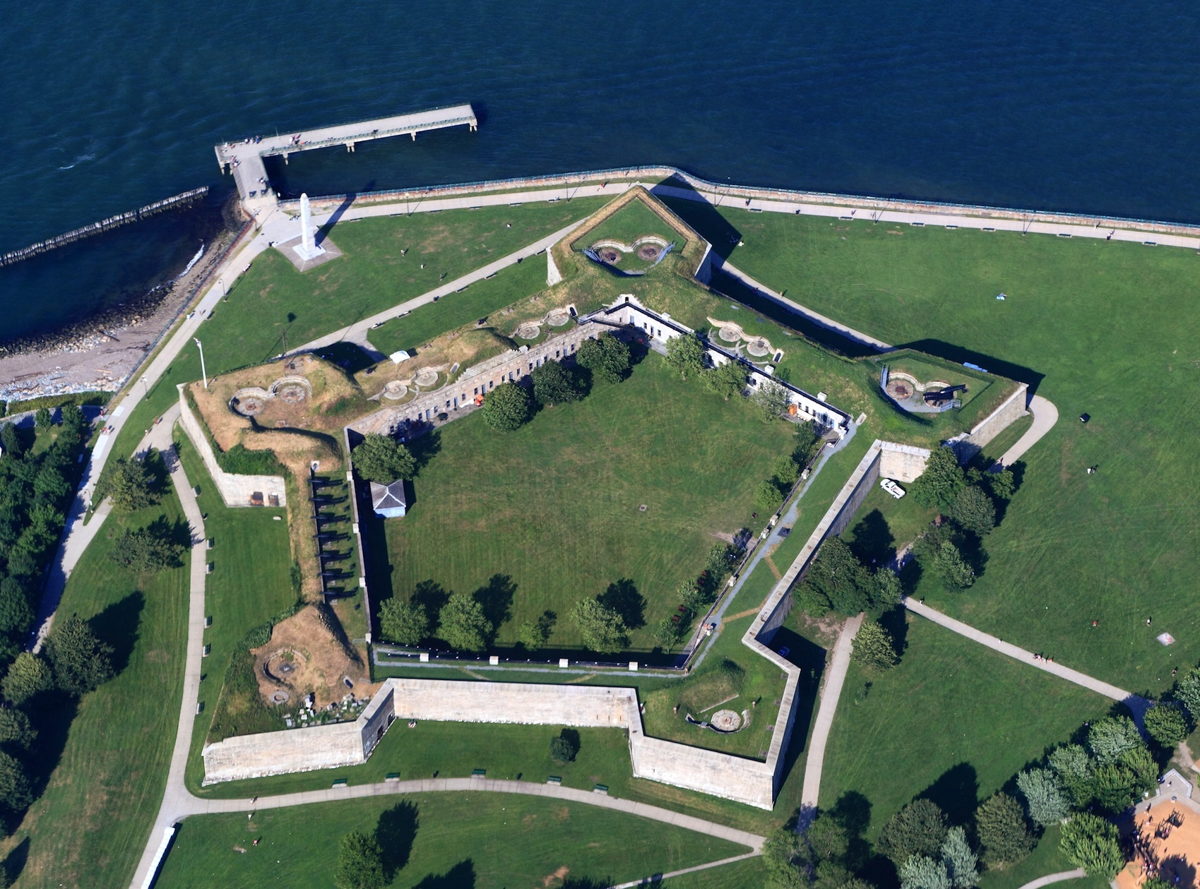 Castle Island Park & Fort Independence