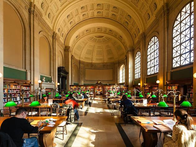 Visit the Boston Public Library