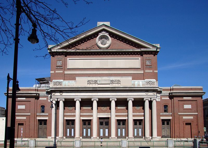 Boston Symphony Hall, Sights and attractions, Music and nightlife, Boston