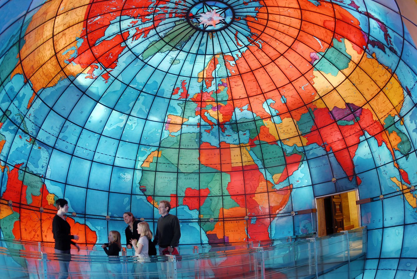 Discover a lost world at the Mapparium