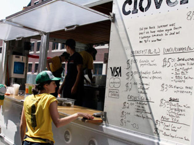 Chase down a food truck