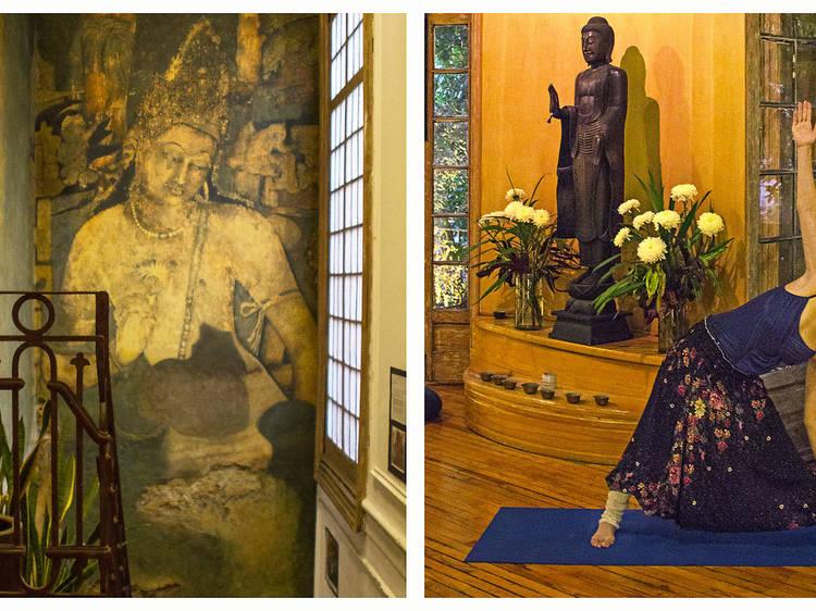 Meditación. Prufica tu mente. Centro Budista de la Ciudad de México