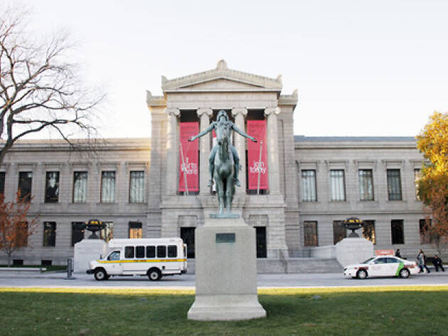 Get your art fix at the Museum of Fine Arts