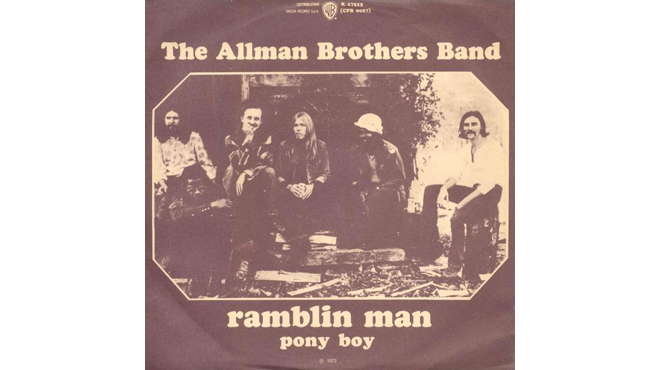 """Ramblin' Man"" by the Allman Brothers Band"