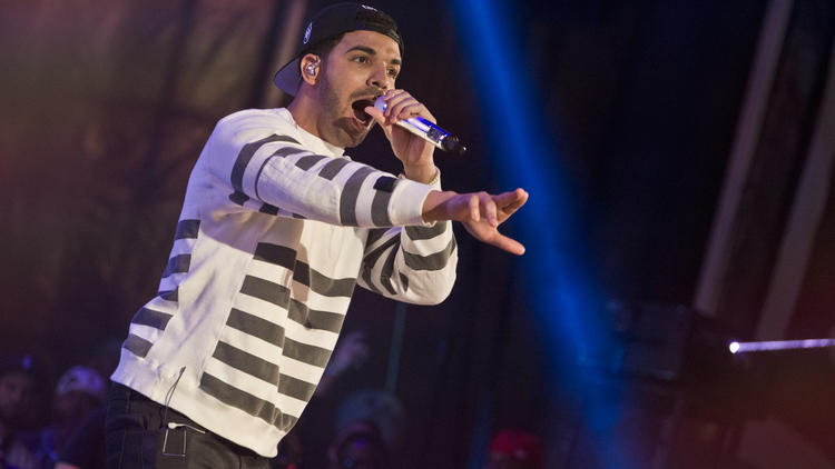 Drake performs at Summer Jam 2014 on June 1, 2014
