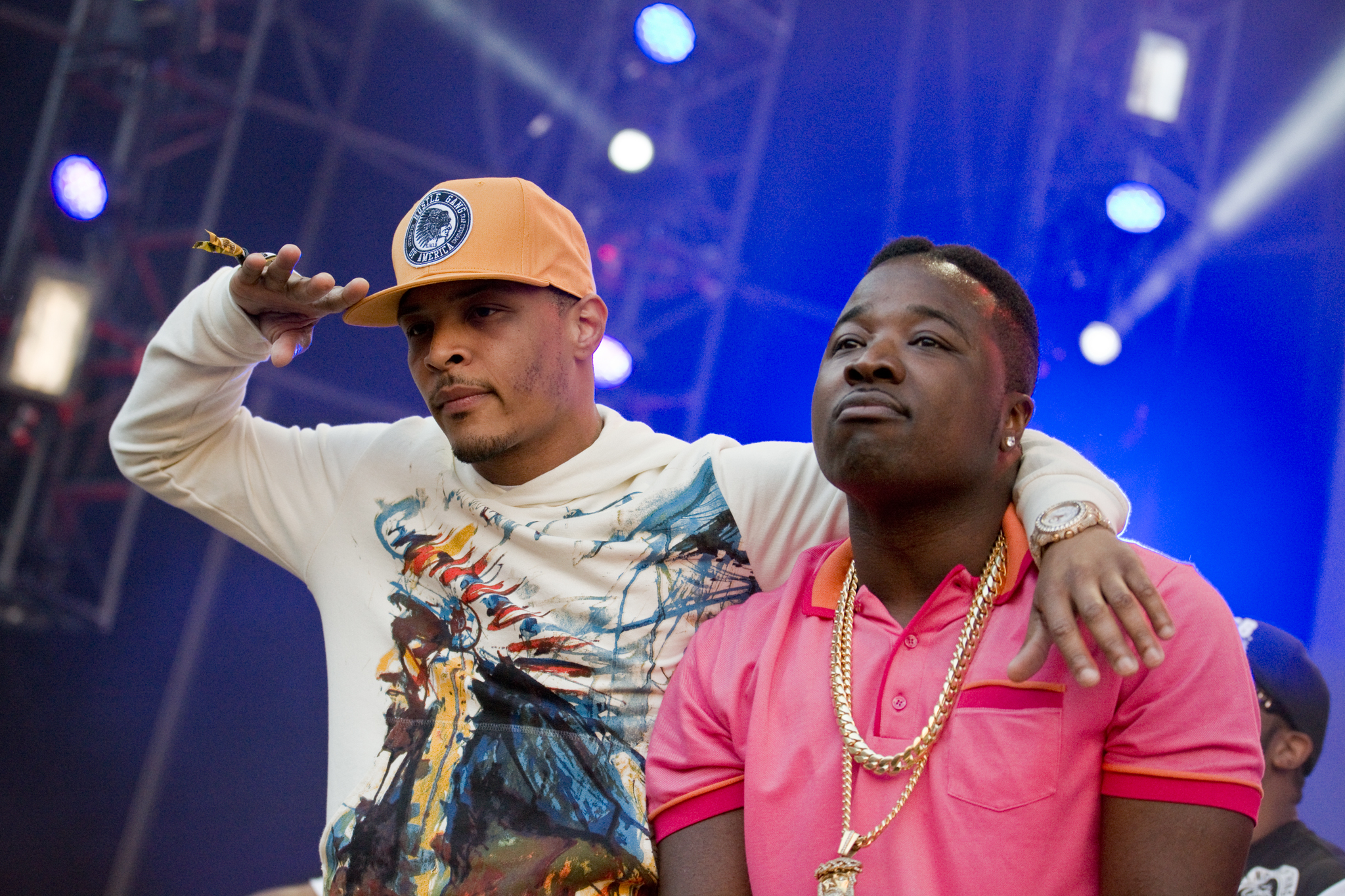 T.I. and Troy Ave