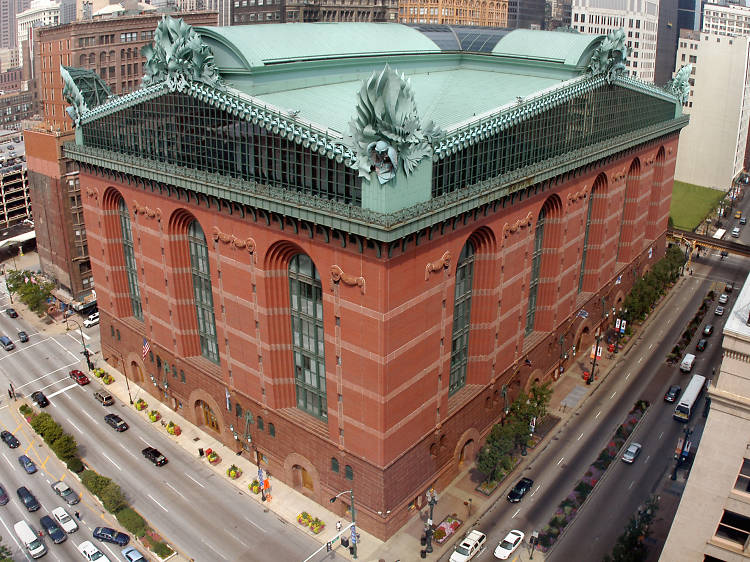 Harold Washington Library, 400 S State St
