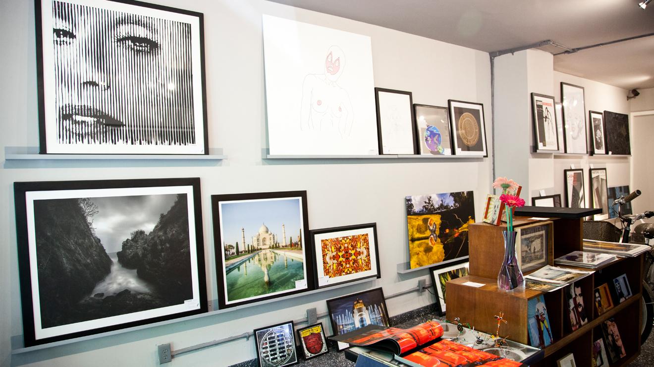 Galerías en la Condesa