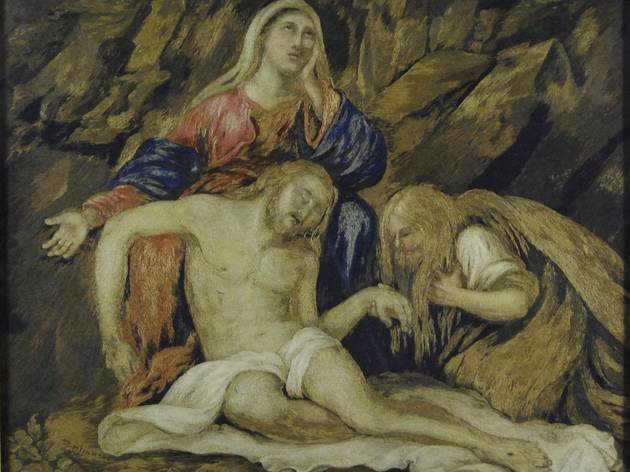 'The Dead Christ' (1800s, Mary Linwood)