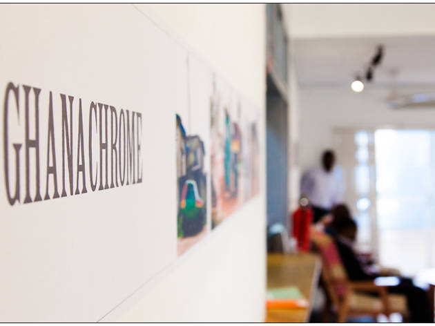 Ghanachrome - exhibition at Goethe Institut