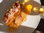 Lobster Roll at Acadia