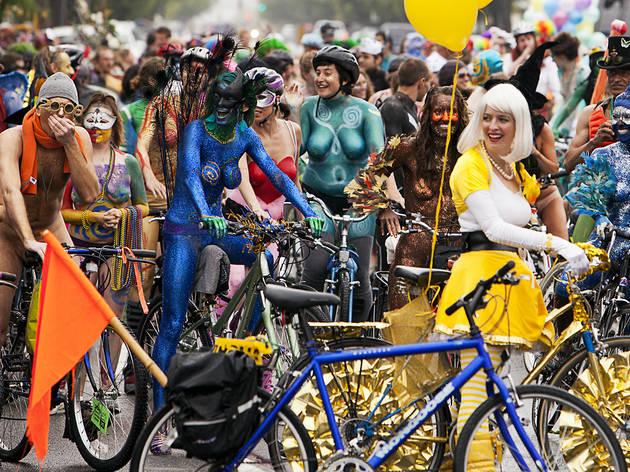World Naked Bike Ride 2015