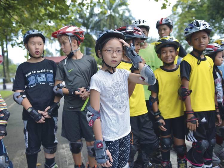 Zip around at Skateline Malaysia