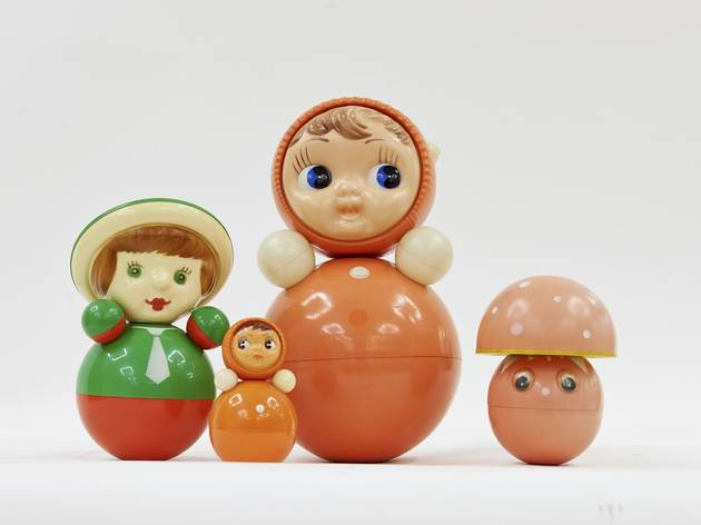 (Nevalyashka Dolls, produced from 1958. Courtesy GRAD and Moscow Design Museum)