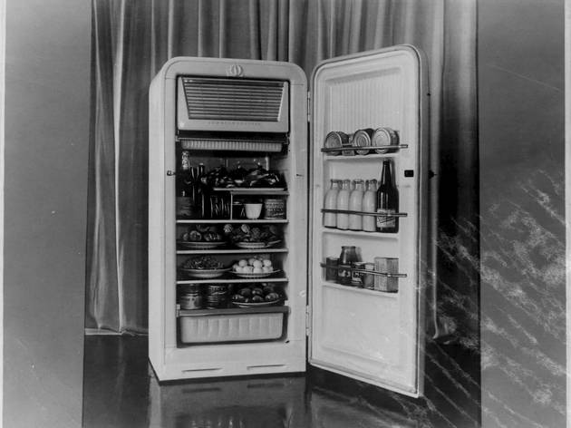 (ZIL Refrigerator, 1950s, Courtesy ZIL and GRAD)