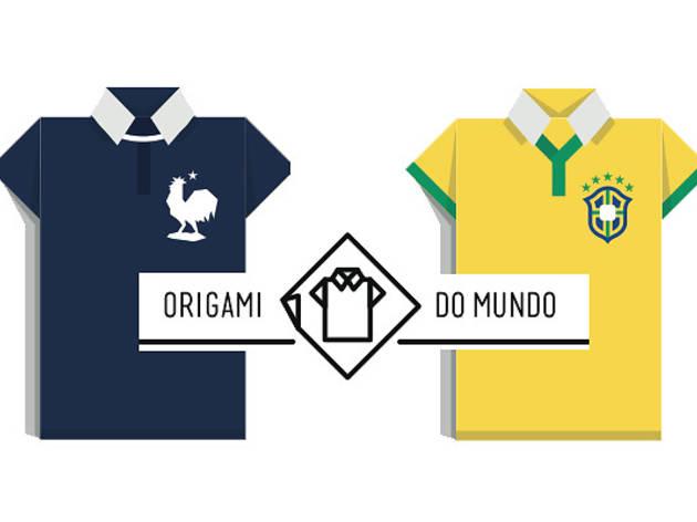 Vos maillots en origami