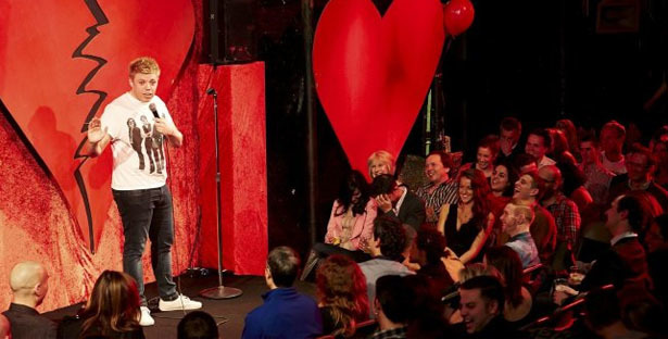 Valentine's at Covent Garden Comedy Club