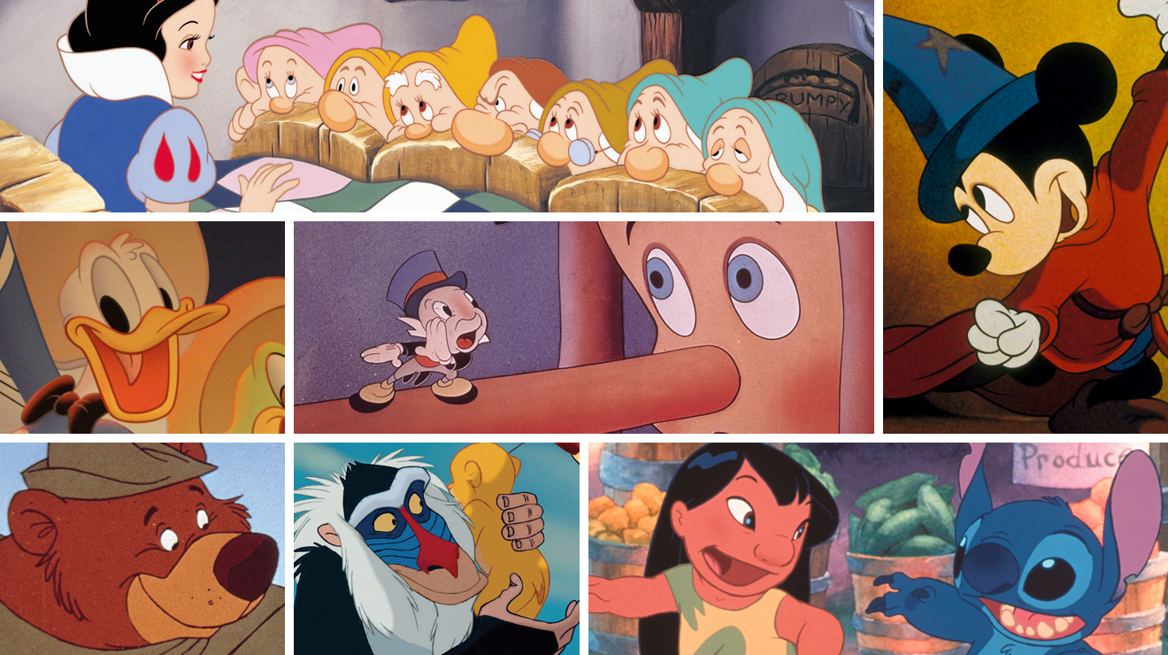 Disney cartoons in our time