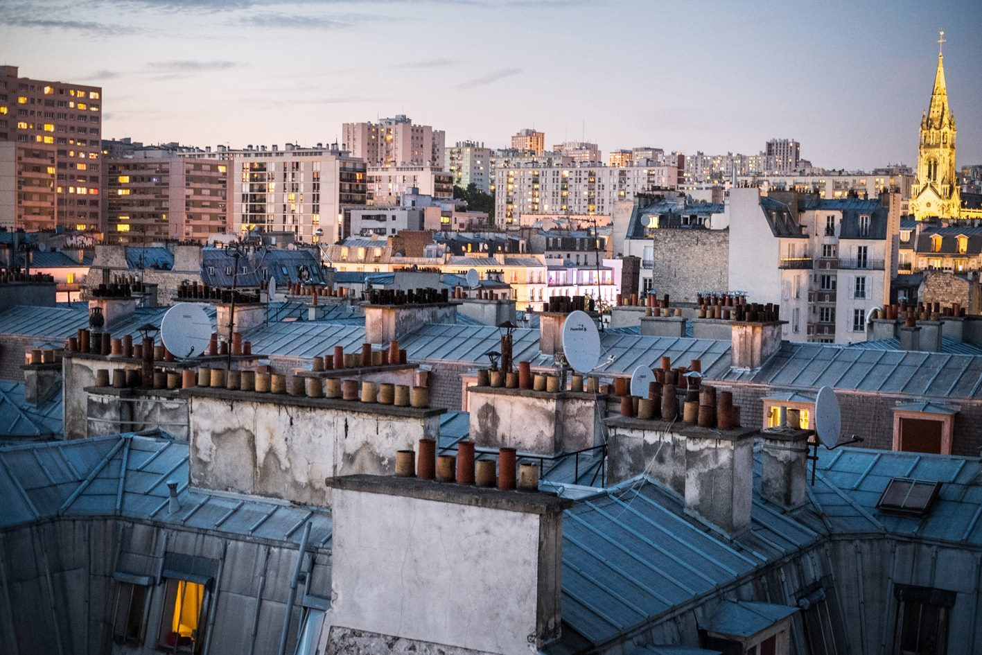 Rooftop paris toit le perchoir