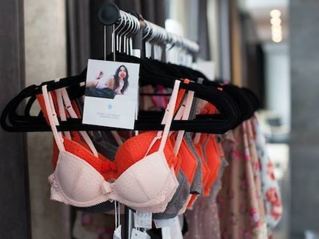 Flora Nuit lingerie pop-up shop